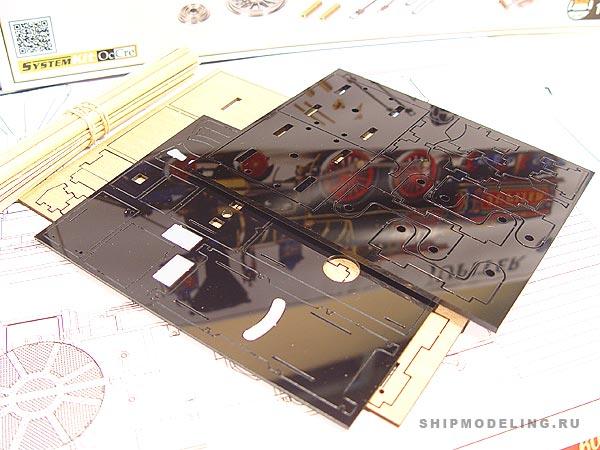 Модель паровоза Jupiter масштаб 1:32