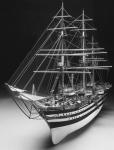 Чертеж корабля Amerigo Vespucci