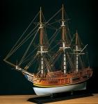 HMS Bounty масштаб 1:60