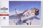 07226 Самолет F-8J Crusader PT26 (HASEGAWA) 1/48