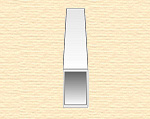 Прямоугольная пластиковая трубка 3,2х6,3мм, 3 шт