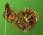 Механические деревянные часы