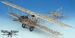 Биплан Curtiss JN-4D Jenny масштаб 1:16