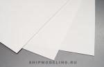 Ассортимент из 3х листов пластика толщиной 0,25; 0,50 и 1 мм, размер 15х30 см