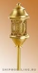 Кормовой фонарь, латунь и пластик, 30 мм