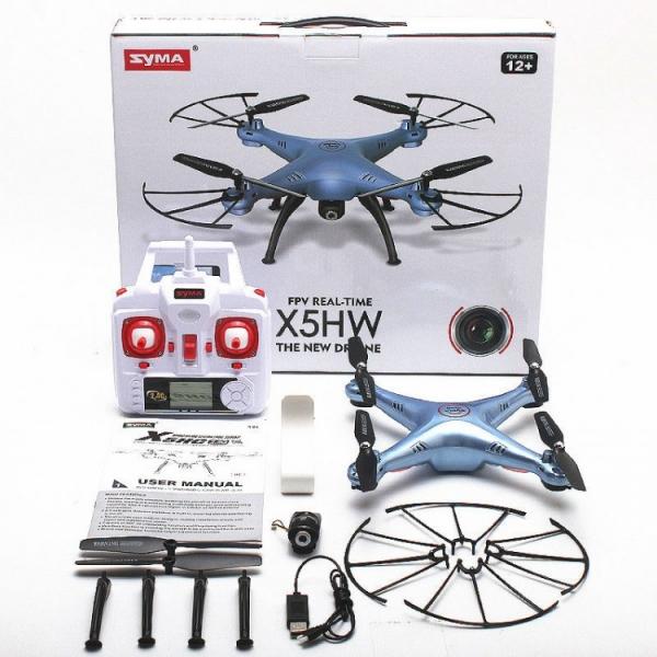Syma X5HW с барометром + видеокамера (Wi-Fi)