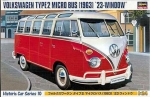 21210 Автомобиль VOLKSWAGEN T2 Microbus 23W (Hasegawa) 1/24