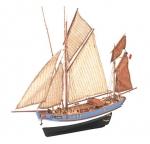 Marie Jeanne масштаб 1:50