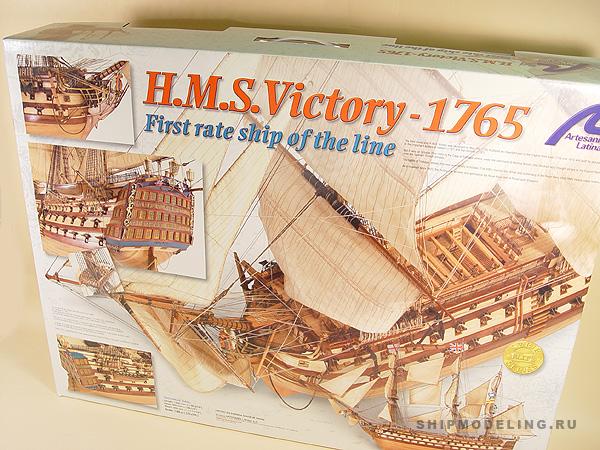HMS Victory масштаб 1:84