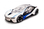 1/14 BMW Version Efficient Dynamics (White-Blue)