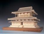 Замок Horyu-ji масштаб 1:75