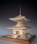Храм Ishiyama масштаб 1:50