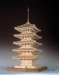 5-ти Ярусная Пагода Kofuku-ji масштаб 1:75