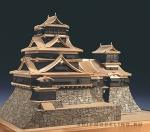 Замок Kumamoto масштаб 1:150