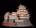 Замок Himeji масштаб 1:150