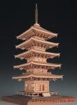 5-ти Ярусная Пагода Ruriko-ji масштаб 1:75