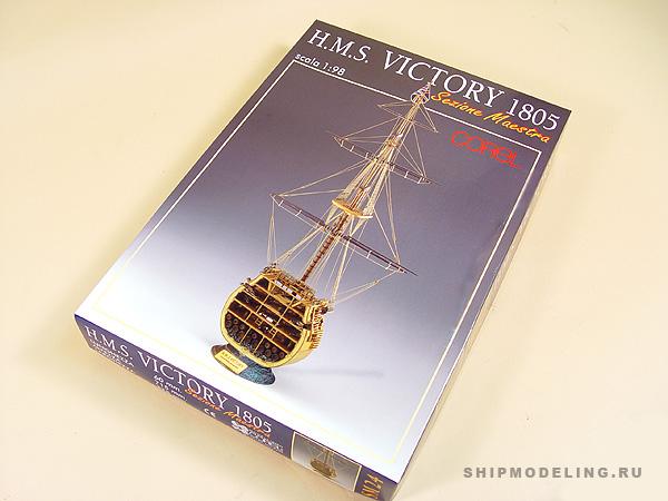 HMS Victory сечение масштаб 1:98