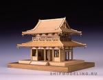 Ворота Horyu-ji масштаб 1:150