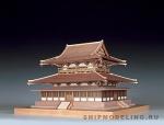 Храм Horyu-ji масштаб 1:150