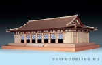 Павильон Horyu-ji масштаб 1:150