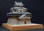 Замок Matsue масштаб 1:150