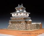 Замок Iwakuni масштаб 1:150