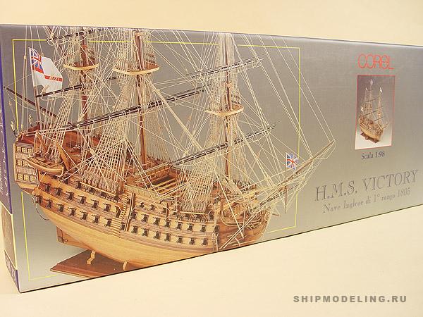 HMS Victory масштаб 1:98