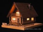 MORI-NO-IE, дом с подсветкой