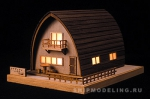 Canadian HOUSE, дом с подсветкой