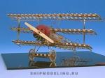 Истребитель Fokker DR 1 масштаб 1:48