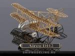 Одноместный Биплан Airco DH2 масштаб 1:160