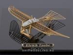 Аэроплан Etrich Taube масштаб 1:160
