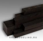 Черный граб, плашка 40X40X700 мм