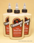 Клей для дерева Titebond II Dark, 237 мл