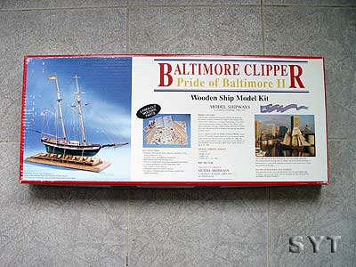 Pride OF Baltimore масштаб 1:64