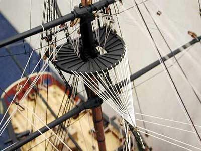 HMS Jalouse масштаб 1:64