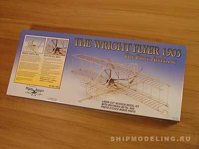 Биплан Wright Flyer масштаб 1:16