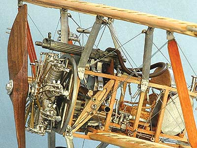 Биплан Sopwith Camel F1 масштаб 1:16