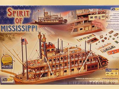 Mississippi масштаб 1:80
