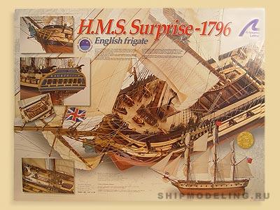 HMS Surprise масштаб 1:48