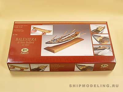 Whaleboat масштаб 1:16