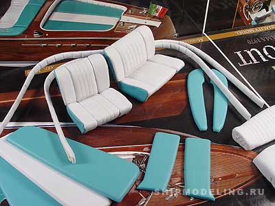 Riva Aquarama 1970 масштаб 1:10