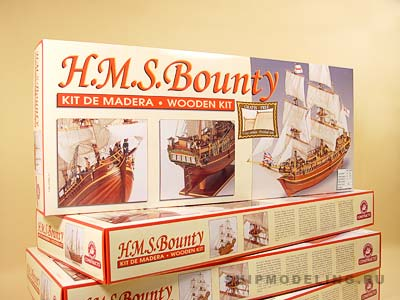 HMS BOUNTY(Constructo) масштаб 1:50