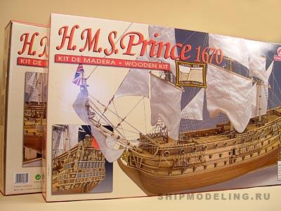HMS Prince масштаб 1:61