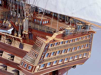 HMS Victory (Constructo) масштаб 1:94