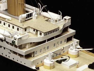 RMS Titanic масштаб 1:250