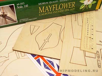 Mayflower масштаб 1:60