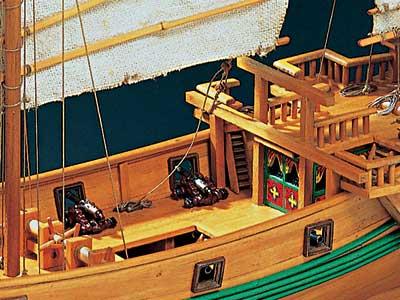Pirate Junk масштаб 1:100