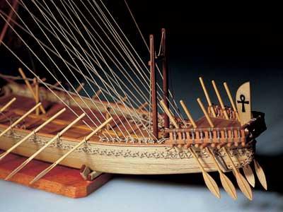 Egyptian Ship масштаб 1:50
