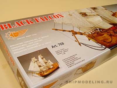 Black Falcon масштаб 1:100